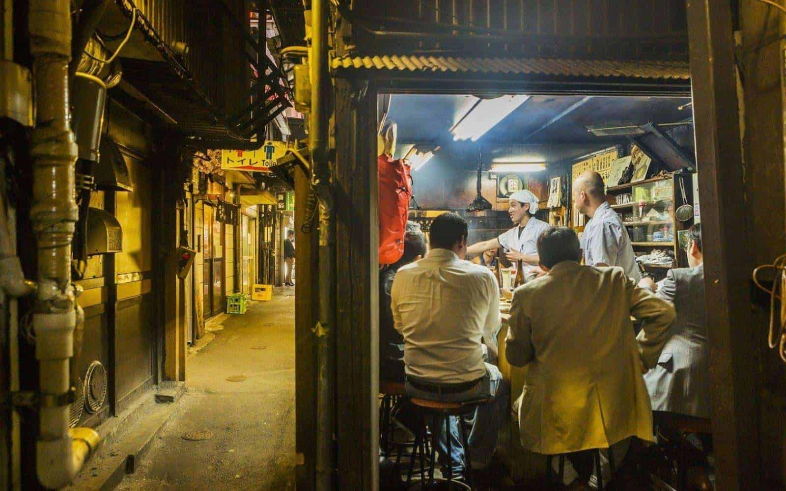 Tokyo's tiniest drinking dens a guide to Golden Gai