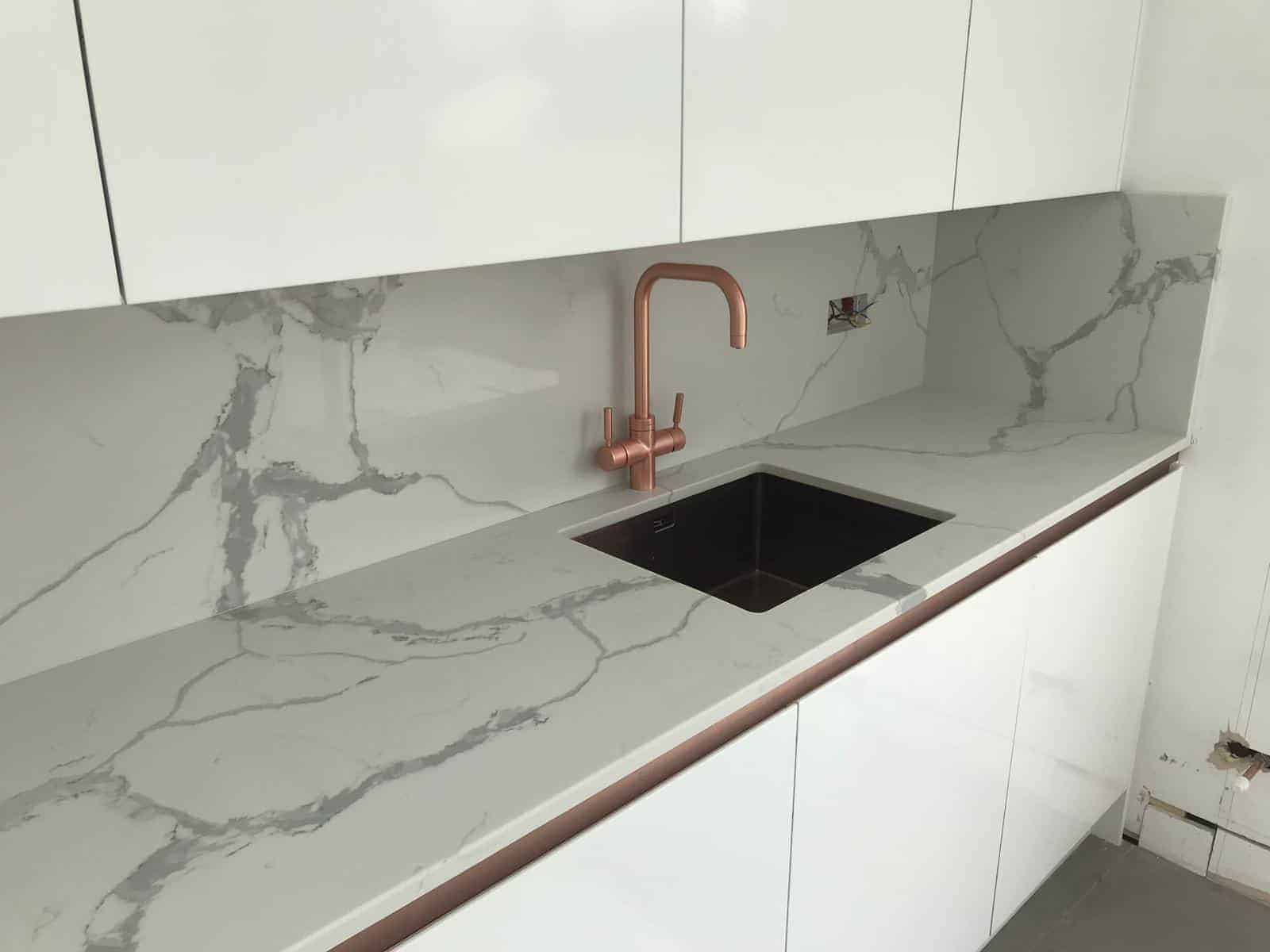 quartz worktops kent. calacatta quartz worktops, calacatta worktop