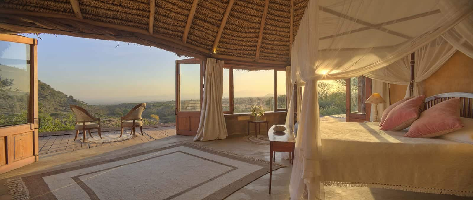 Lewa Wilderness rooms interior