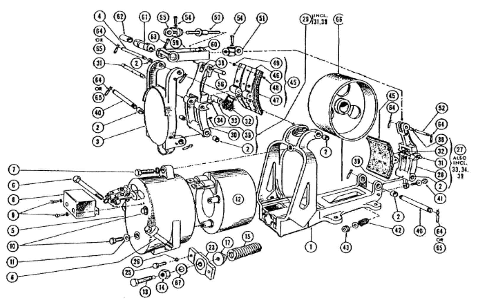CLARK 13 DC MAGNETIC BRAKE
