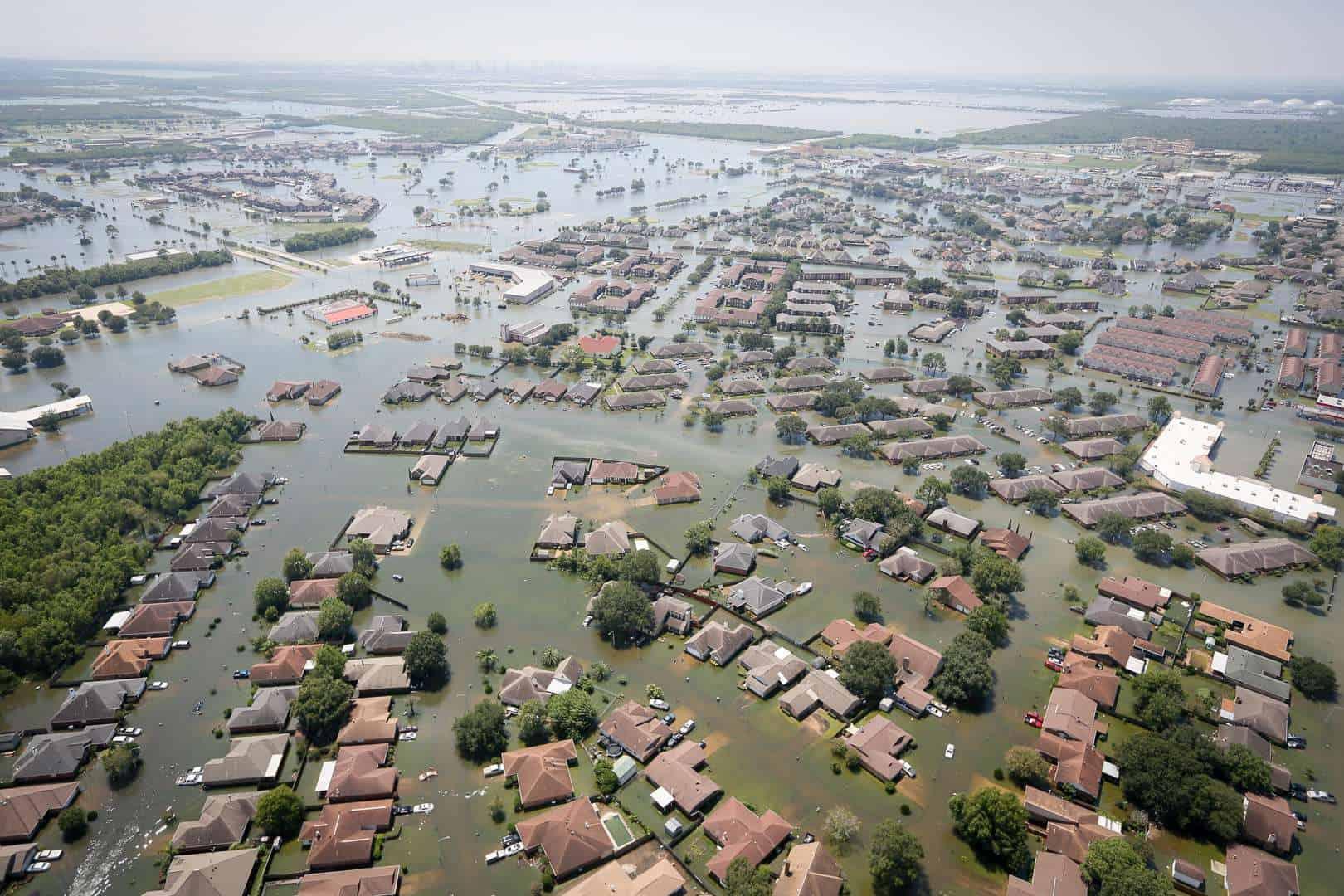 Hurricane Harvey flooding, Port Arthur