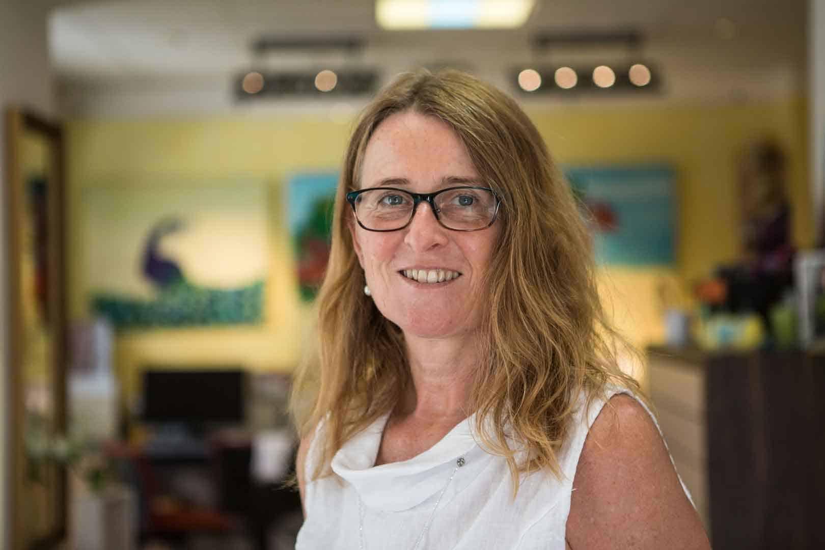 Sabine Zirngibl – Inhaberin von Sehkomfort Schöne Aussicht
