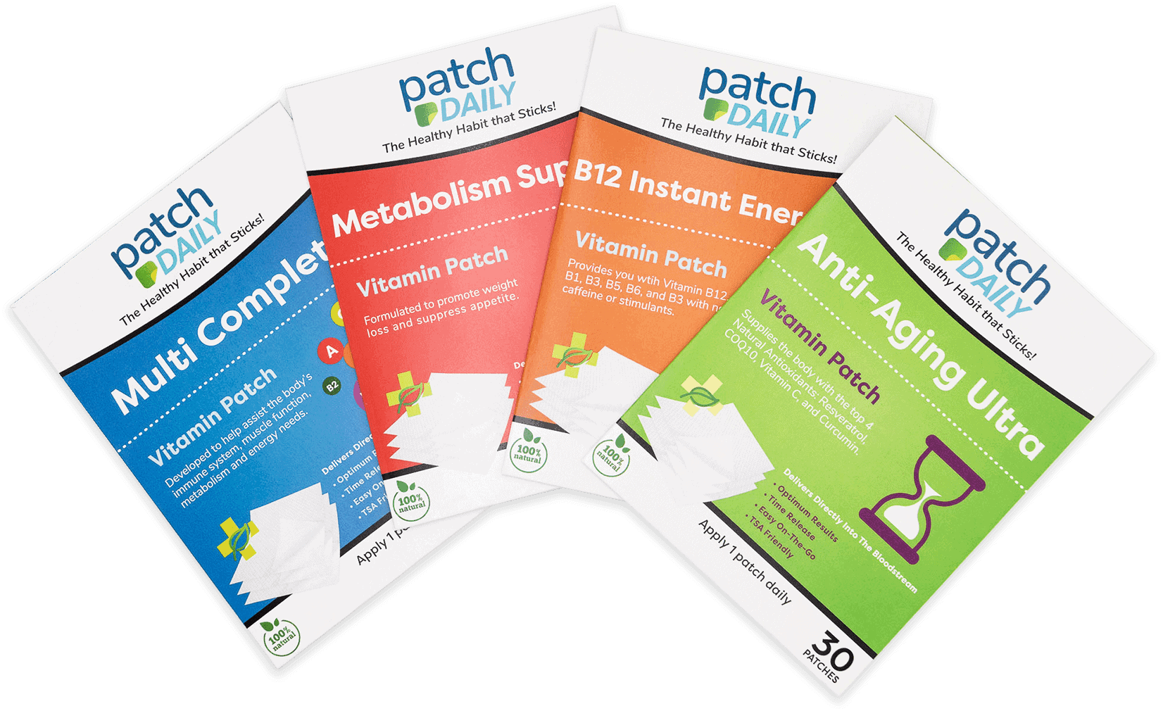 patch daily vitamin patches