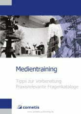 Bond-Medientraining in der Publikation Medientraining der cometis AG