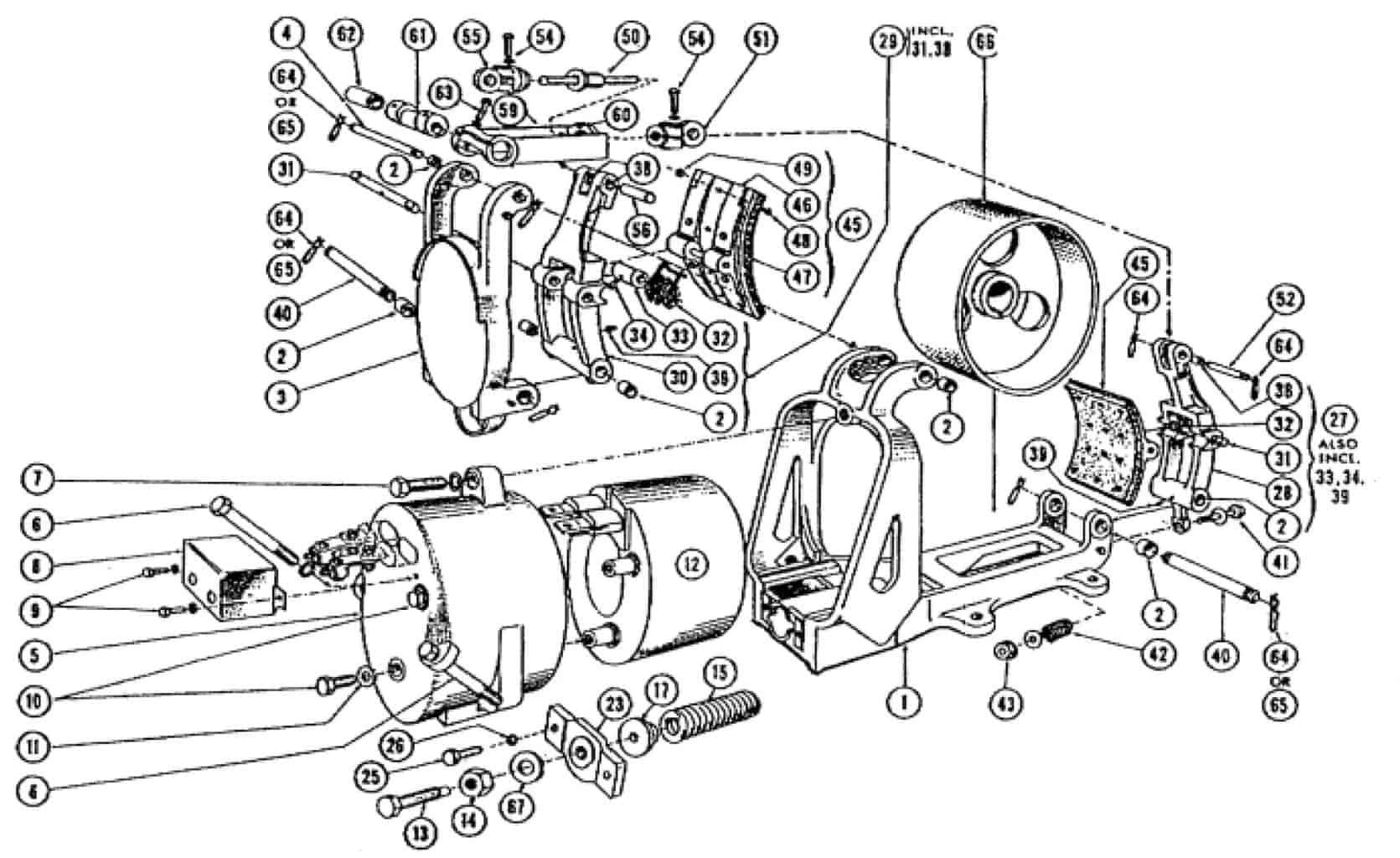 CLARK 16 DC MAGNETIC BRAKE