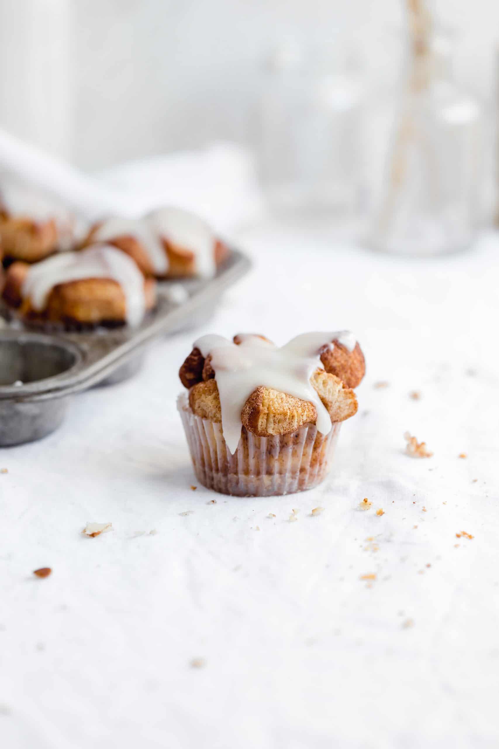 cinnamon sugar biscuit monkey bread muffin