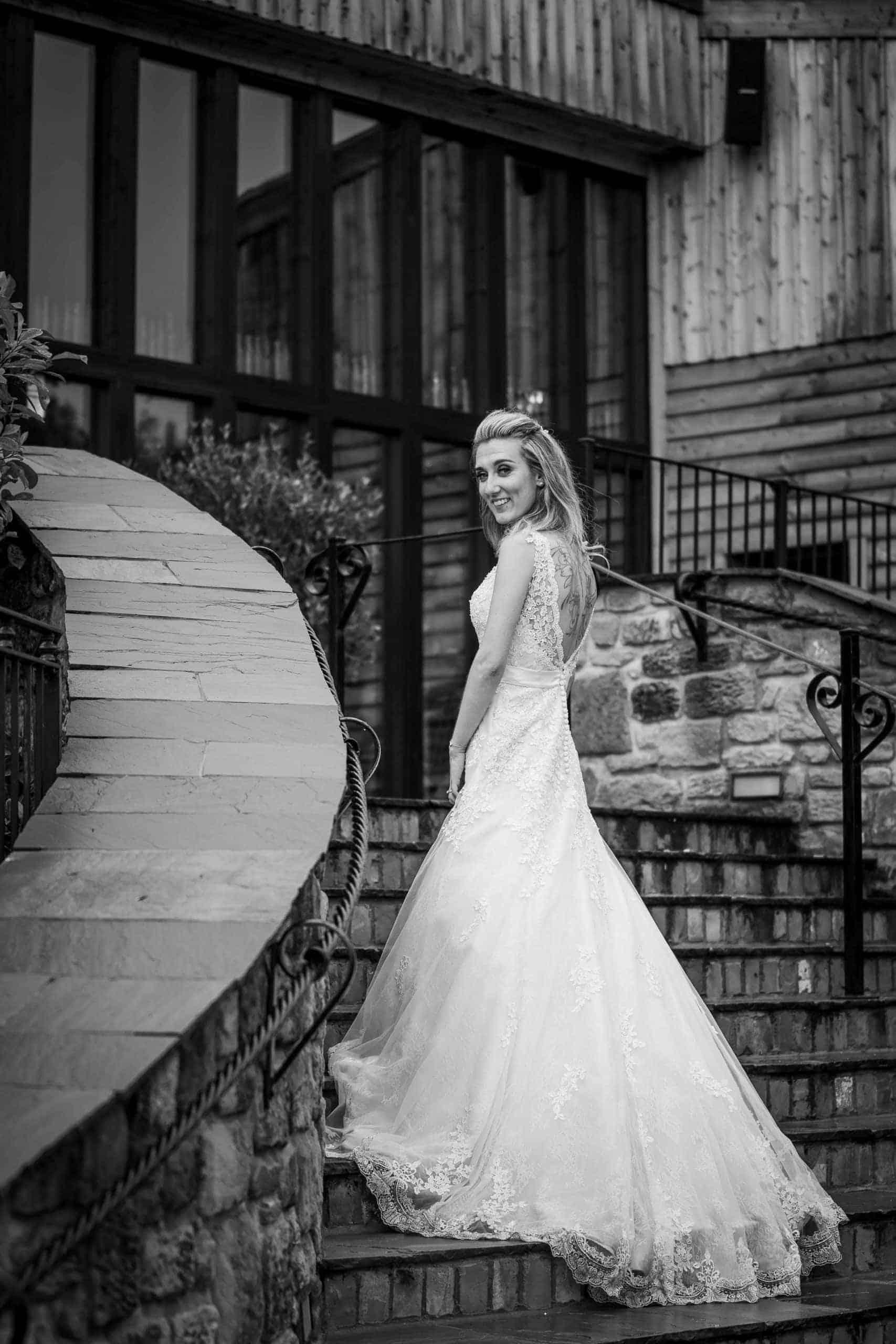 South Causey Inn Bridal photography