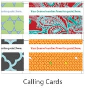 Free Printable Call Cards and Business Cards