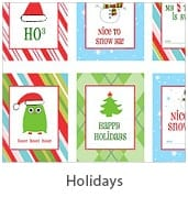 Holiday Free Party Printables at Living Locurto