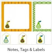 Free Printable Notes and Tags at Living Locurto