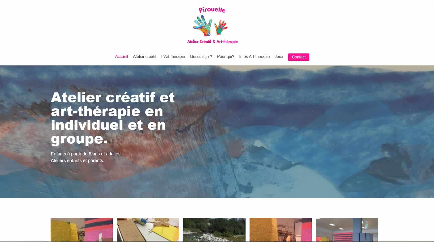 atelier art-theraphie site web