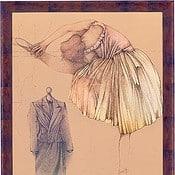 """Ballerina e manichino"" - Limitierte Original-Lithografie von Bruno Bruni"