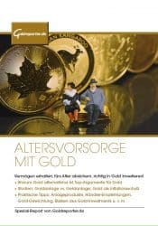 Gold, Altersvorsorge