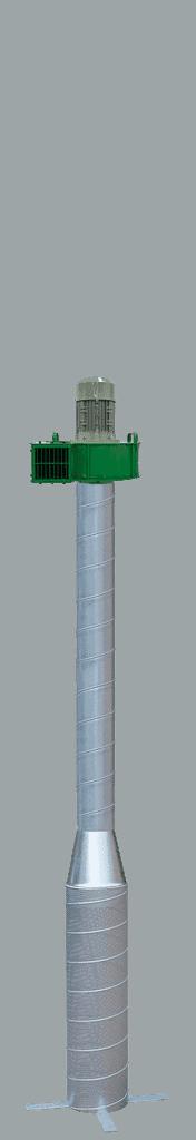 Martin Lishman P2 Pile suhe žitarice sa zelenim ventilatorom za optimizirani sustav hlađenja zrna