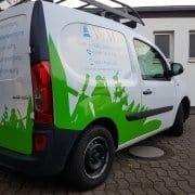 Referenz Arbeit KFZ V & M Reklame Bremen