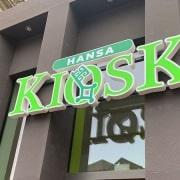 Hansa Kiosk 3D-Buchstaben an der Domsheide Bremen