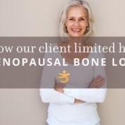 Menopausal bone loss