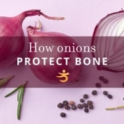 Protect bones with onion