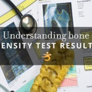 Bone density test results