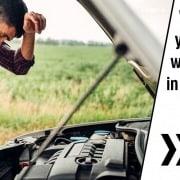 Car break down wrong engine oil