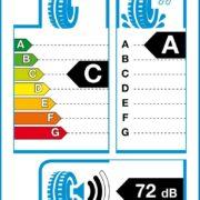 Cómo leer la tarjeta energética de los neumáticos
