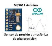 MS5611 módulo presión atmosférica. Resolución de 10 cm de altura