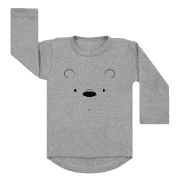 Shirt Polar Bear grijs