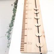 Houten groeimeter
