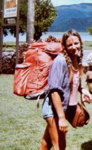 Auswanderin Johanna 1980 in Australien