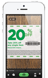 deliver coupons to shoppers