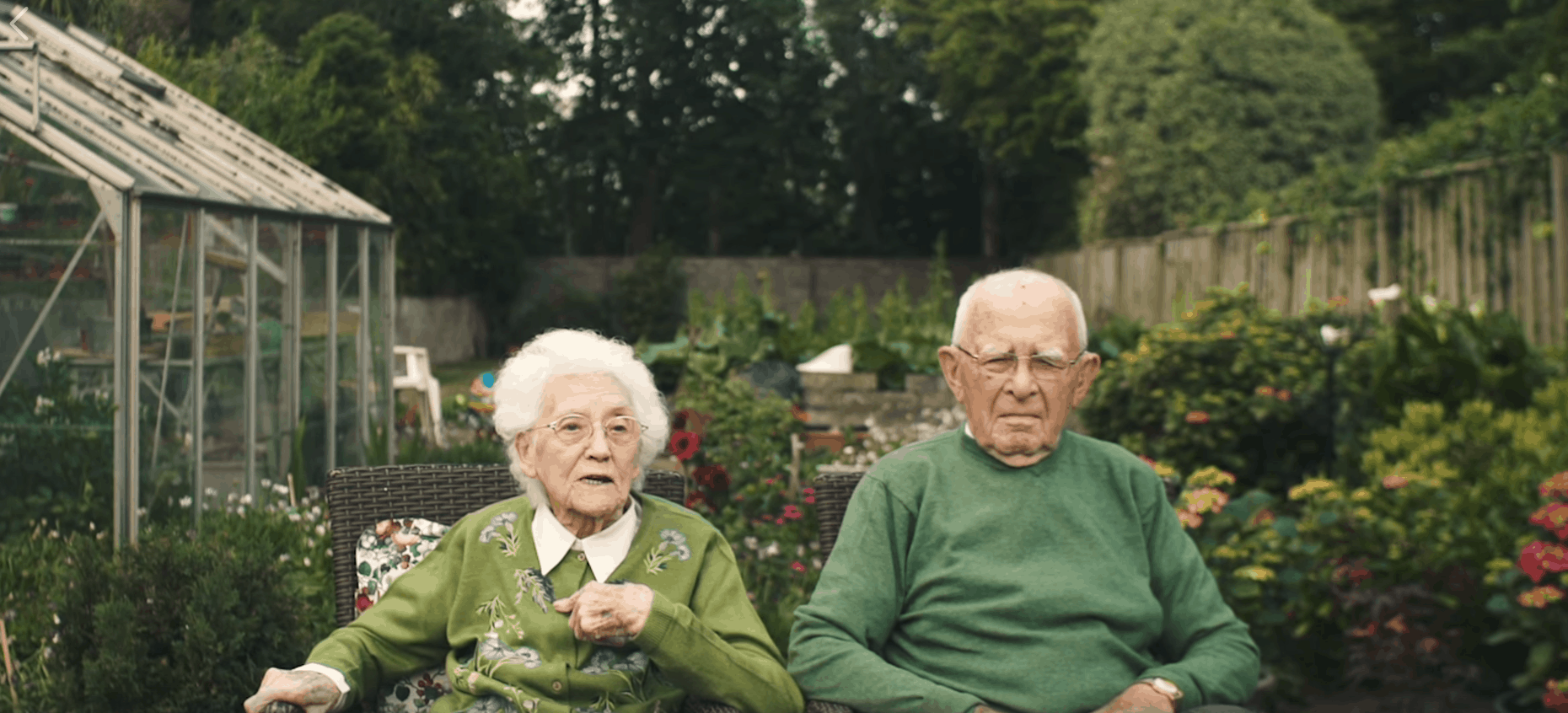 Irish couple 101 and 95 years old