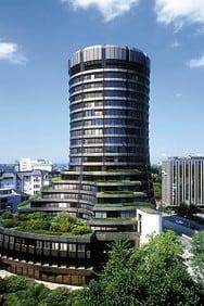 BIZ-Tower in Basel, Bank für Internationalen Zahlungsausgleich