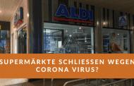 Supermärkte schließen wegen Corona - WhatsApp Nachricht