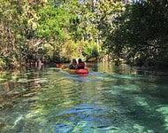 weeki wachee paddlers 1 Weeki Wachee Springs: Kayaking, manatees and mermaids
