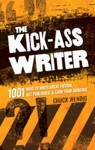 Kick Ass Writer Book Cover