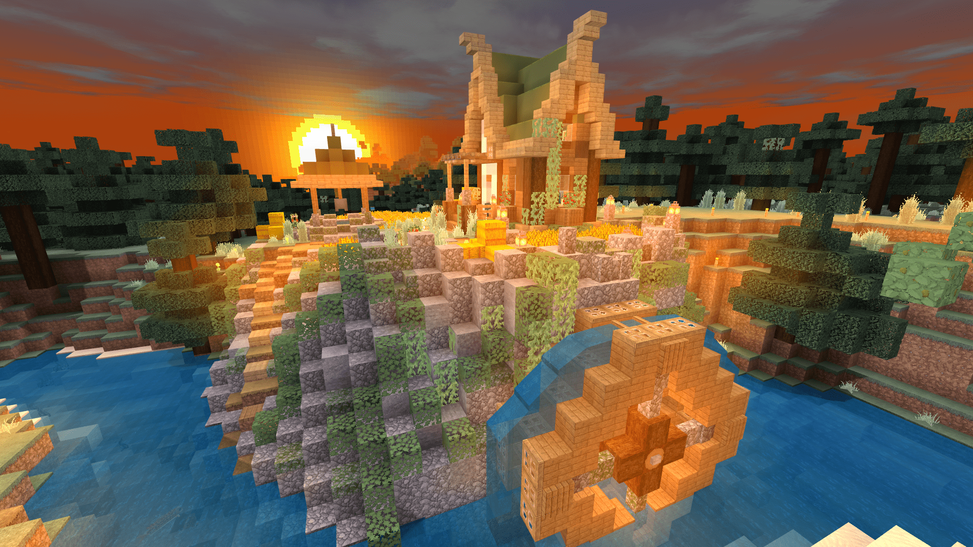 Evercraft Realm v2 - Haley's Cottage (Sunset)
