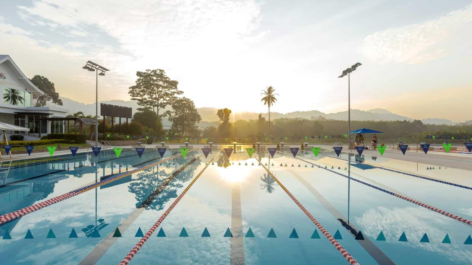 Perfekte Bedingungen für Dein Schwimmtraining © Thanyapura