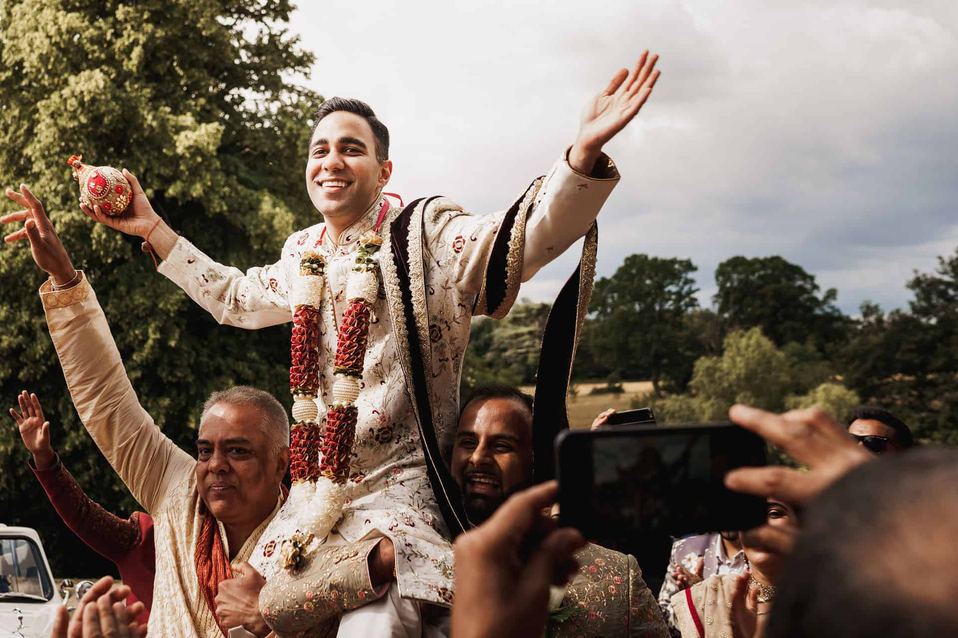 braxted park indian wedding photographer