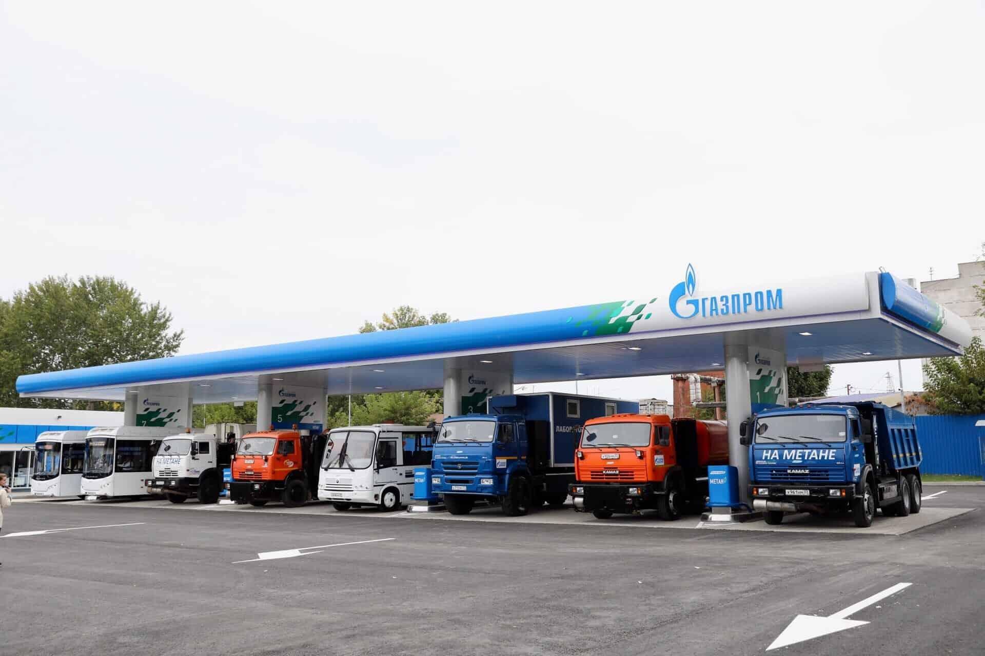В Колпино появится газовая АЗС