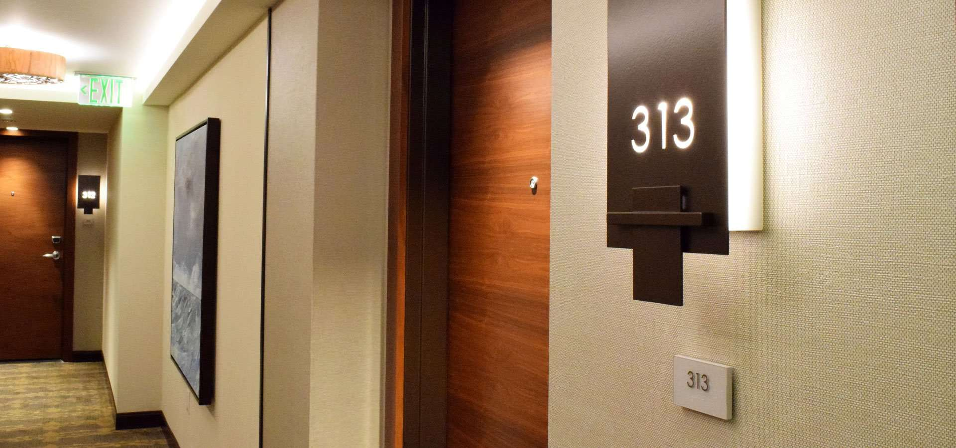 Room Number Signage