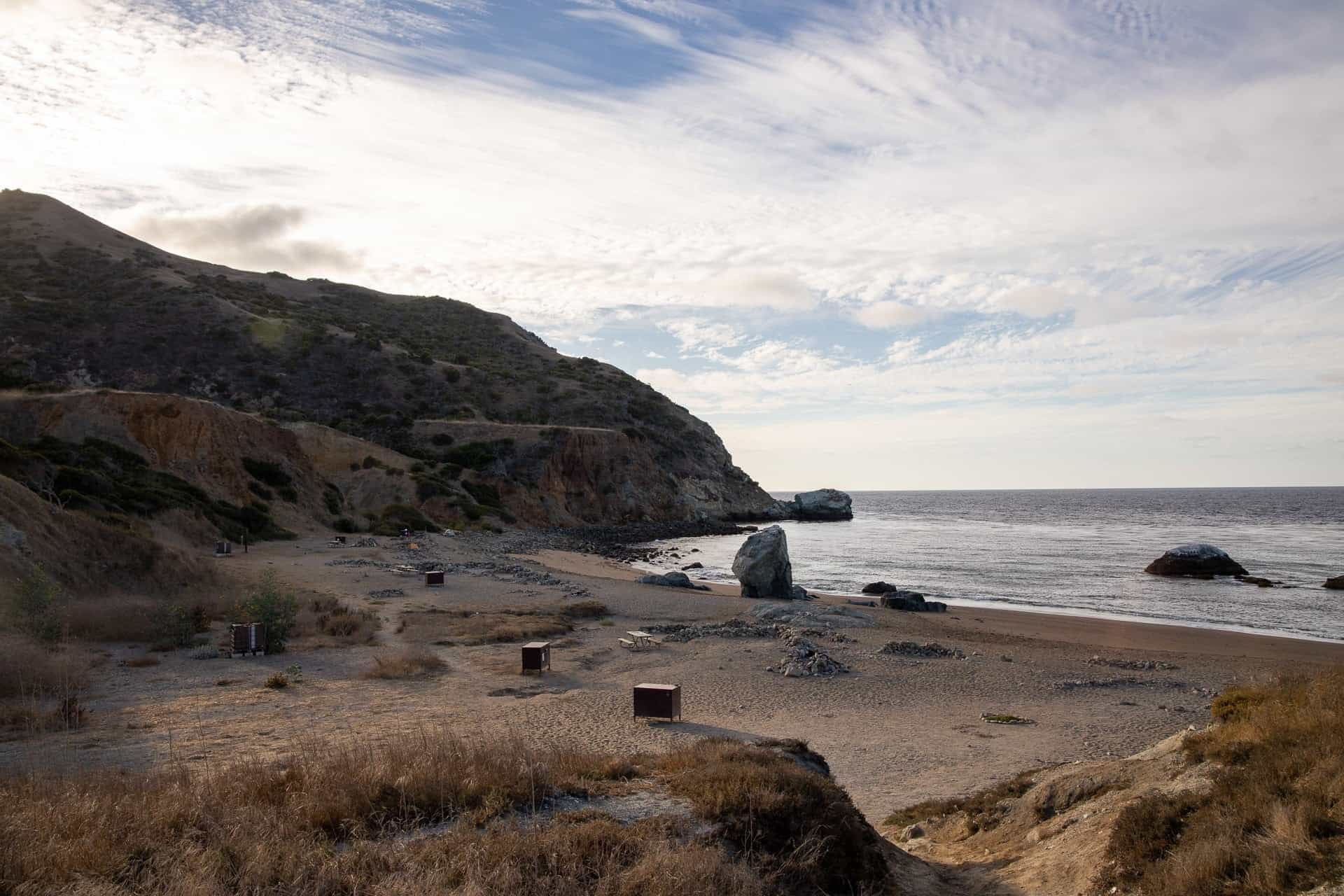 Parson's Landing //Plan a backpacking trip on the Trans-Catalina Trail on Catalina Island with this trail guide with tips on the best campsites, water availability, gear & more