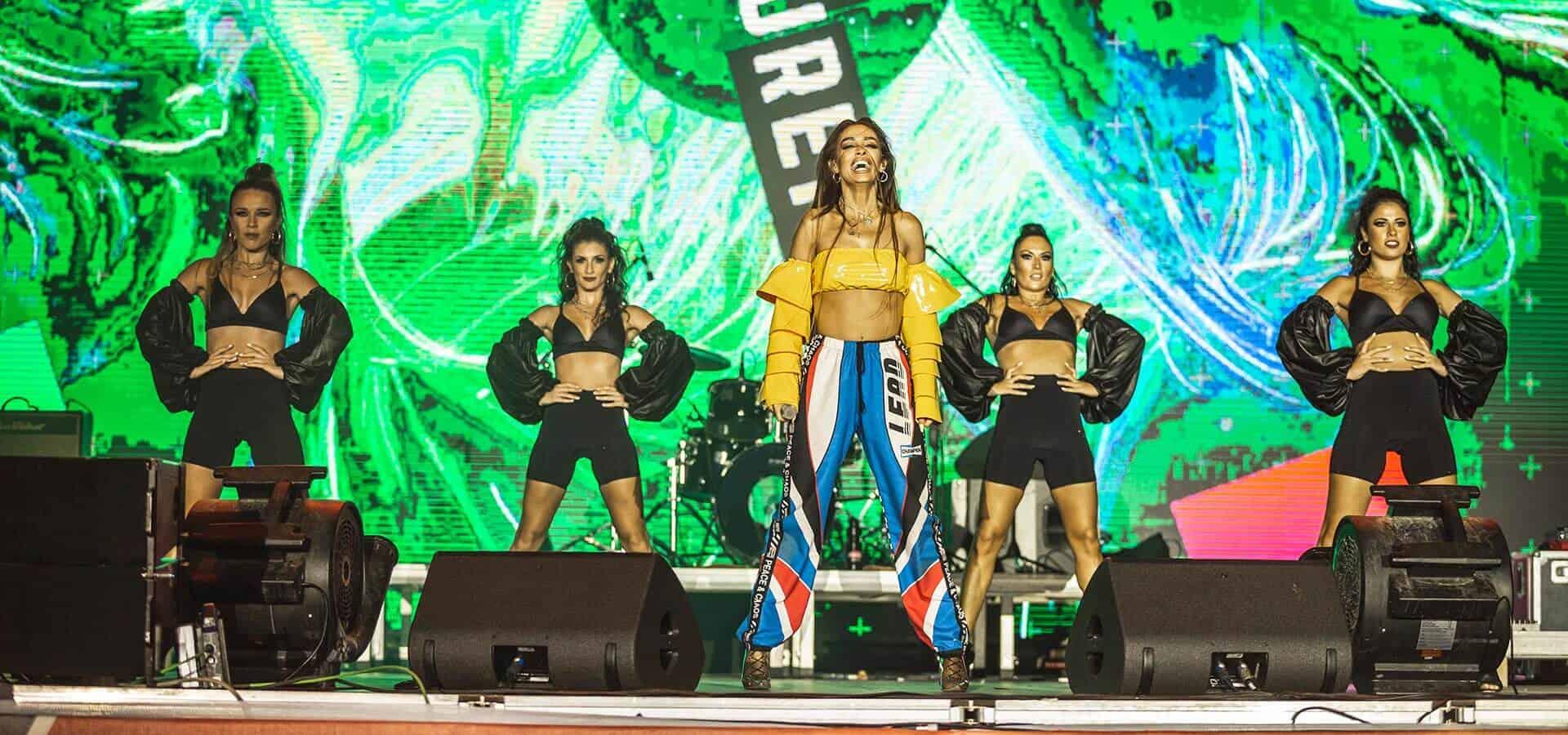 Eleni Foureira ne skenen e Coca-Cola Summer Fest