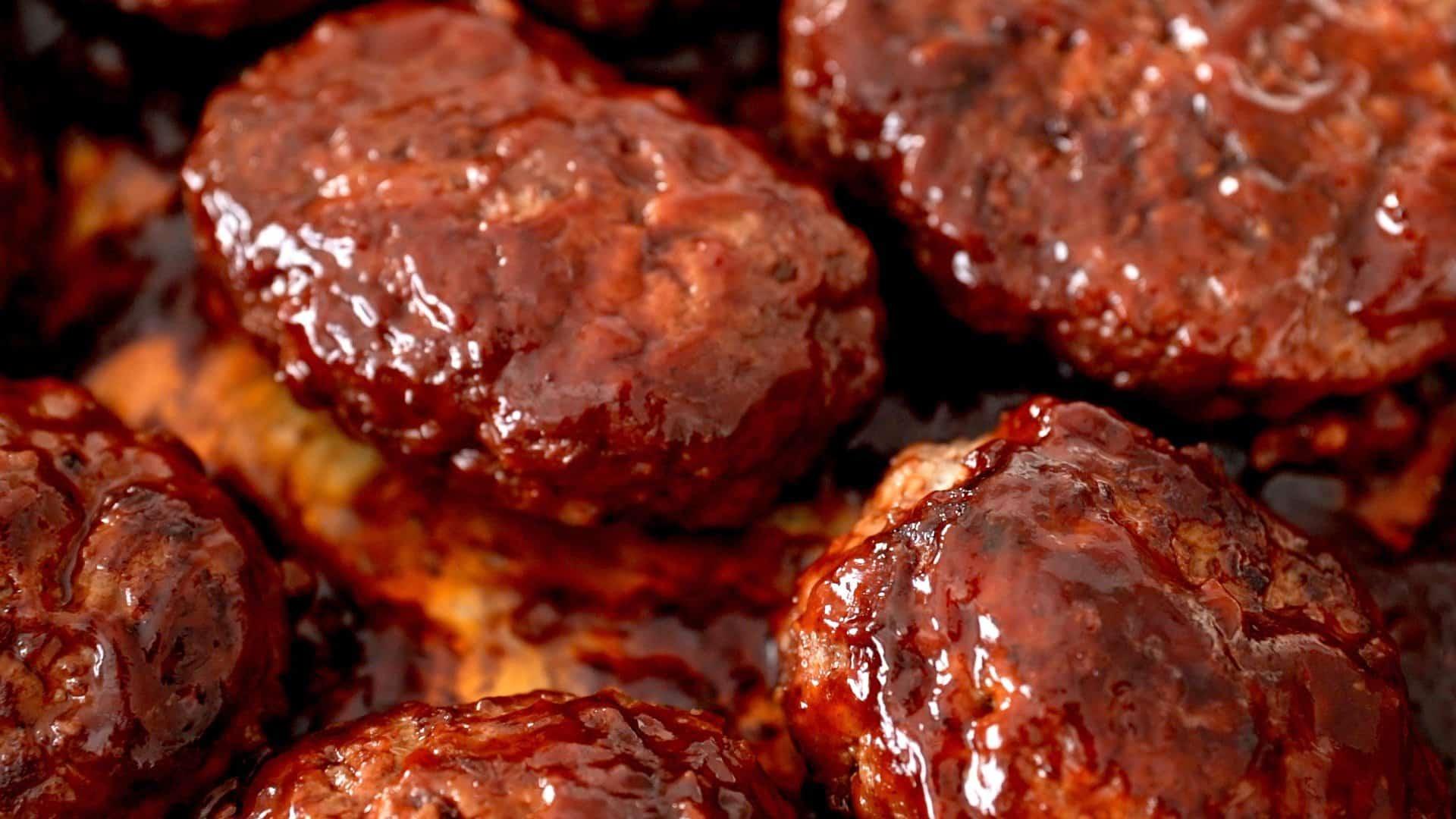 The best glazed Hamburg Steak recipe.