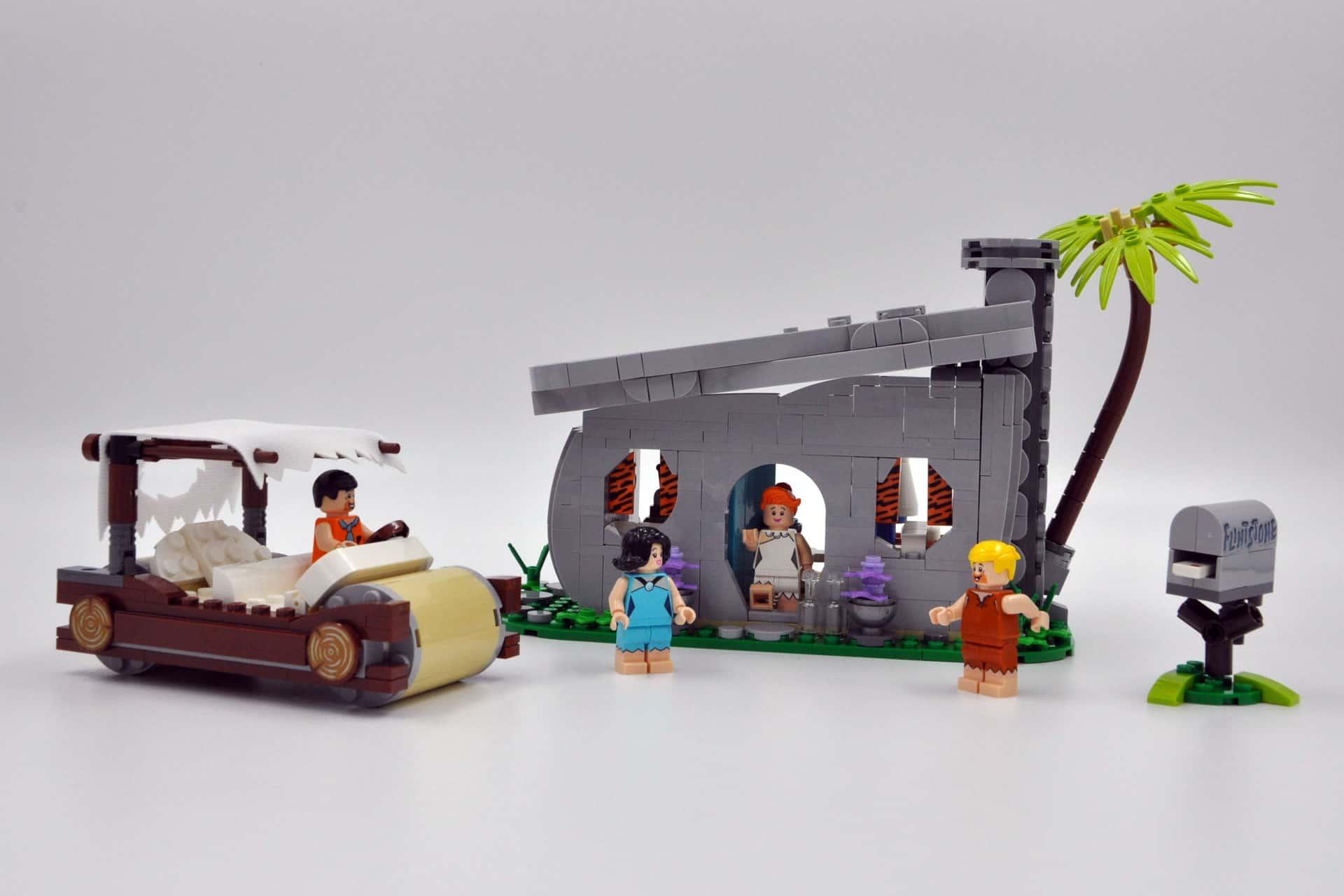 LEGO 21316 The Flintstones - Fertiges Set