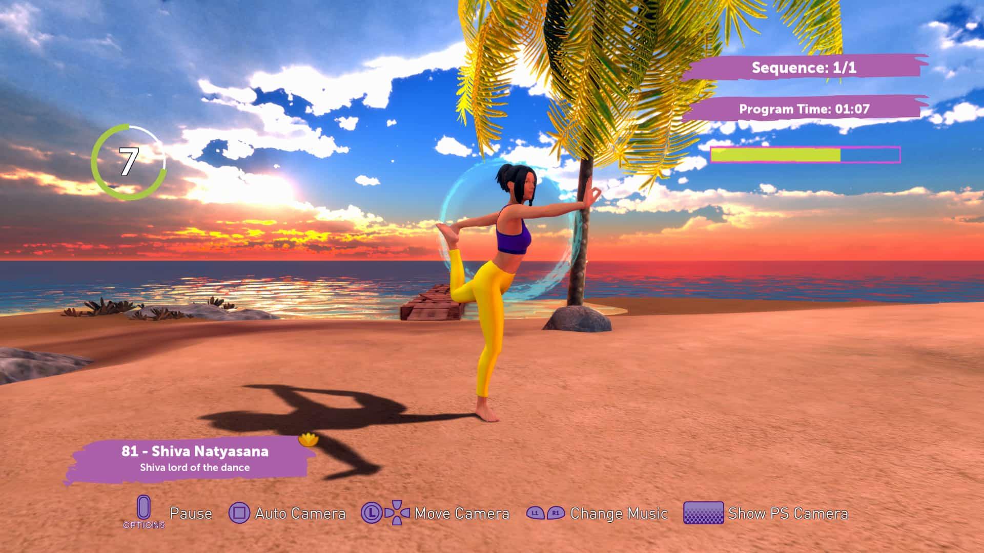 Yoga Master Übung