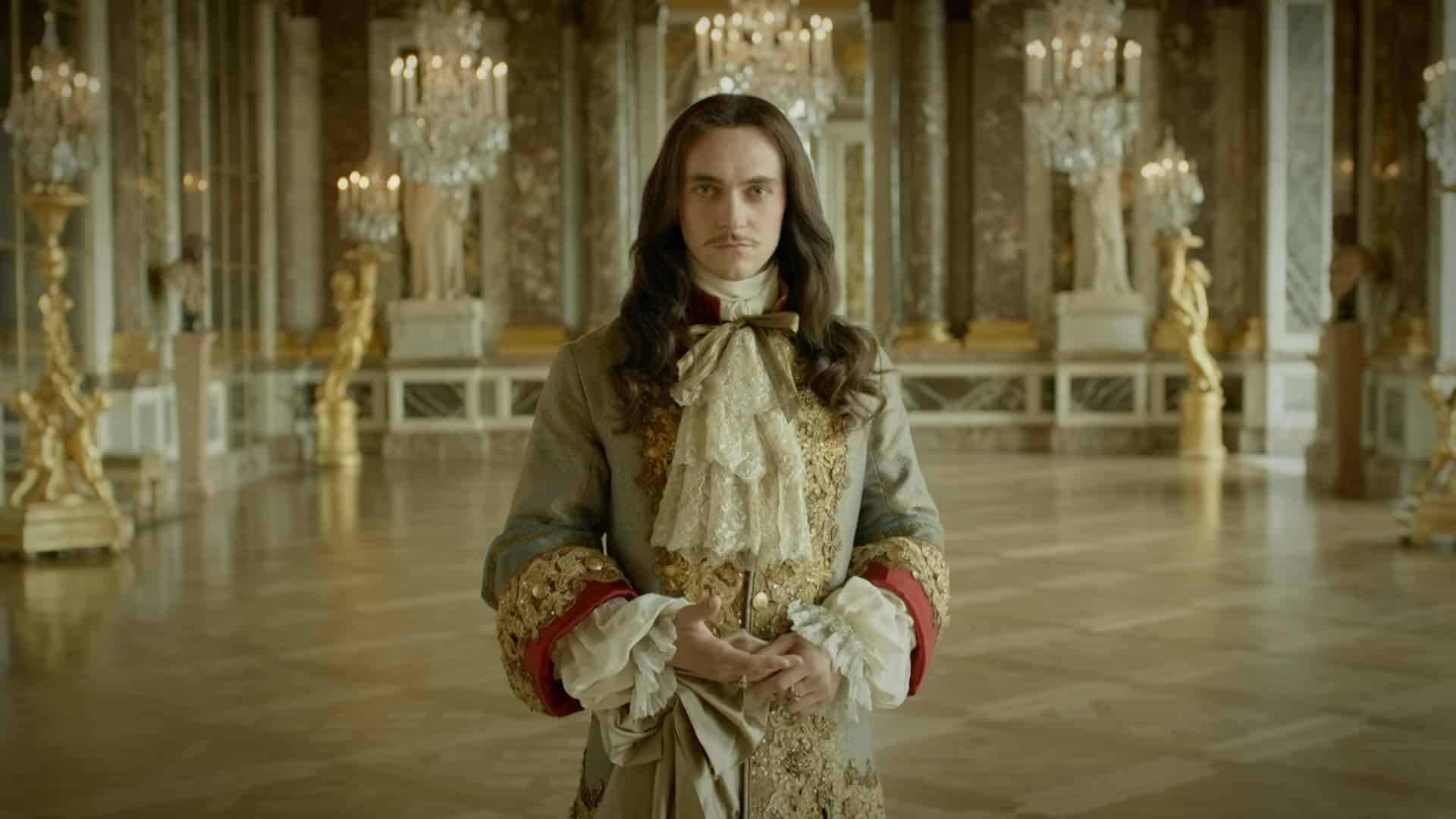 Dressing George Blagden as Louis XIV in Versailles