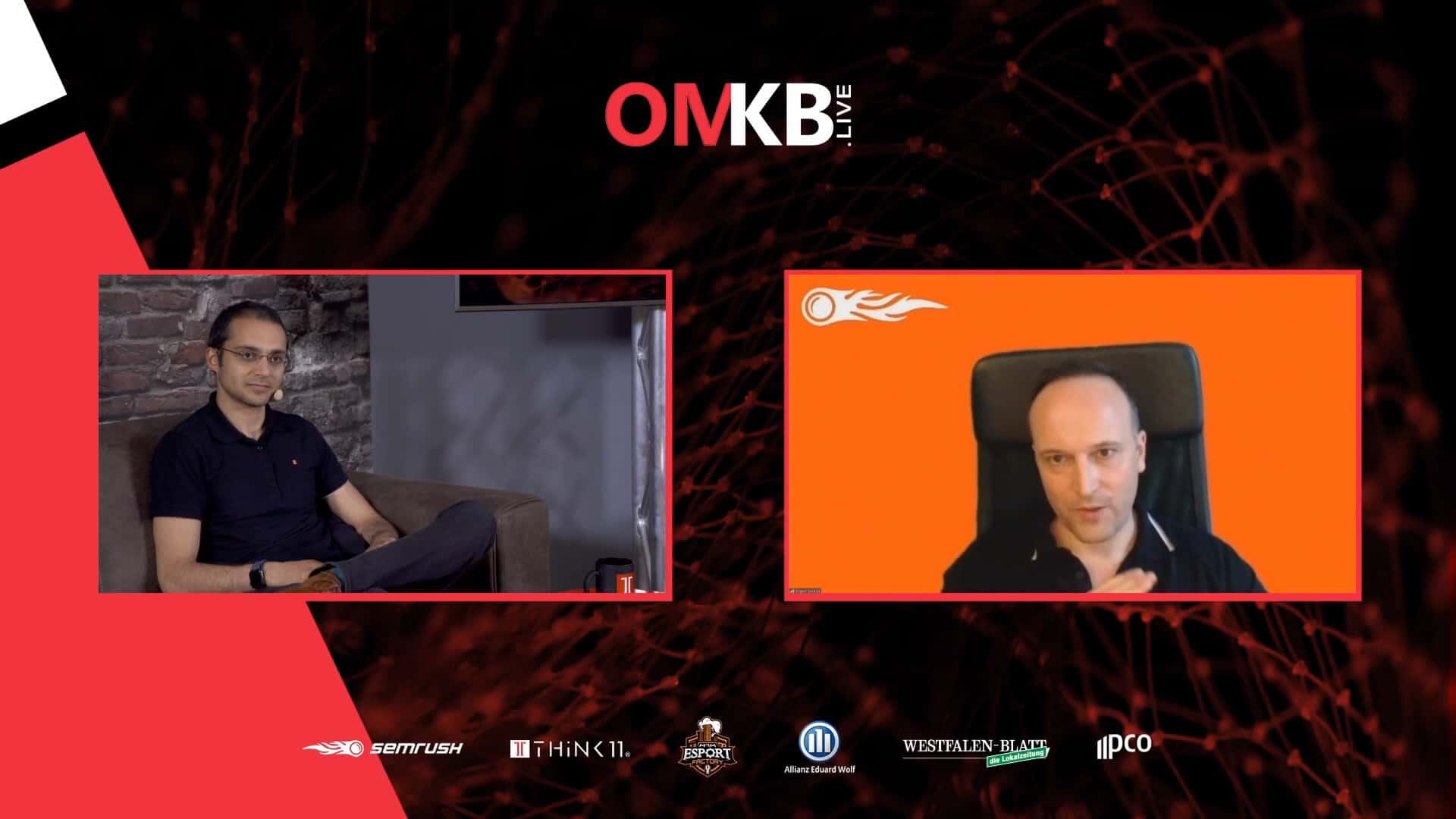 Evgeni Sereda, SEMrush – Konkurrenzanalyse im Online Marketing | Vortrag