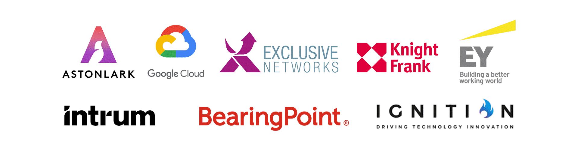 Eventify client logos