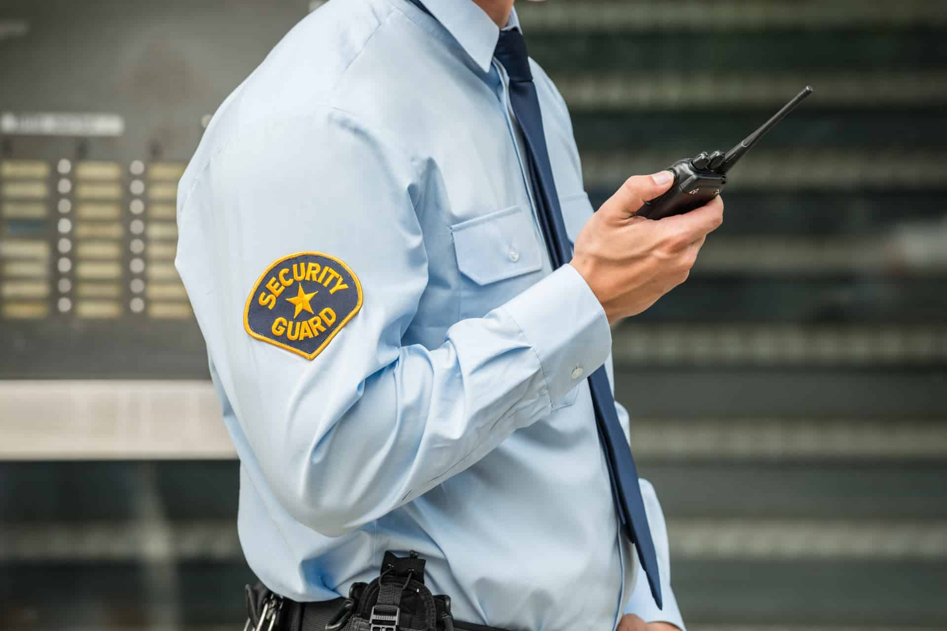 Duties of a professional security guard