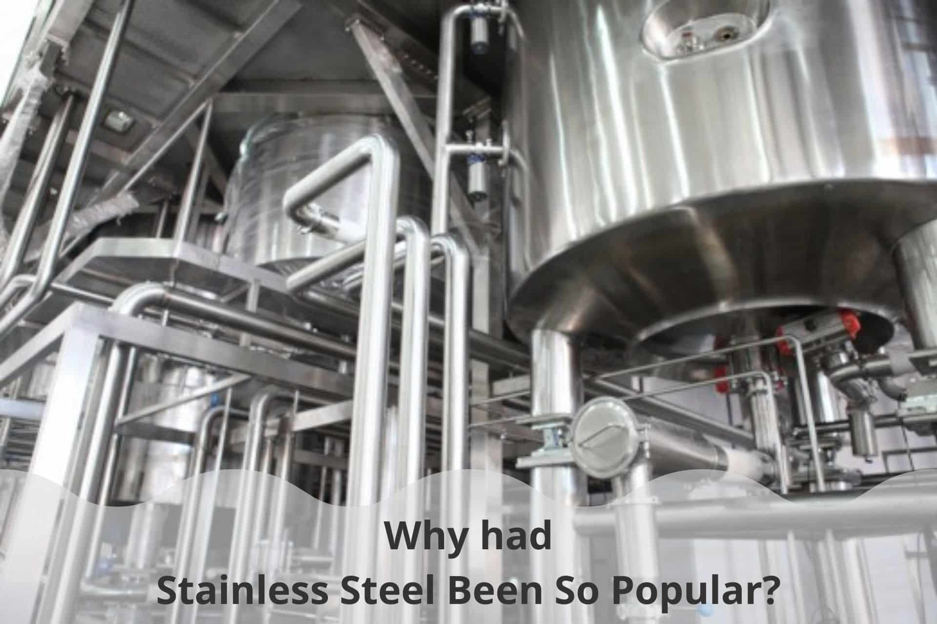 Why had Stainless Steel Been So Popular?